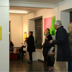 """""""Lagepläne"""", Elvira Lantenhammer, ABC Westside Galerie"""
