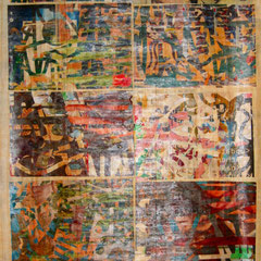 Marc Avrel, Papyri Serie, Papyrus 2, 2017, ABC Westside Gallerie