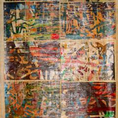 Marc Avrel, Papyri Serie, Papyrus 2, 2017, ABC_Westside_Galerie