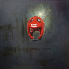 Nicolas Curmer, Alex Maier´s, 85 x 85, Öl auf Holz, ABC Westside Galerie