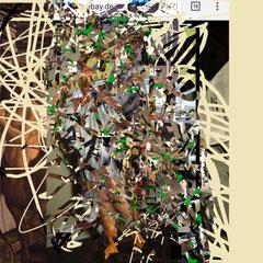 Marc Avrel, jaeger 2 abstract vintage white, DINA 2,  Druck auf Foto-Papier, 2017,  ABC Westside Gallerie