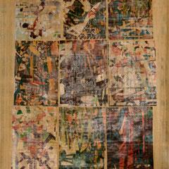 Marc Avrel, Papyri Serie, Papyrus 1, 2017, ABC_Westside_Galerie