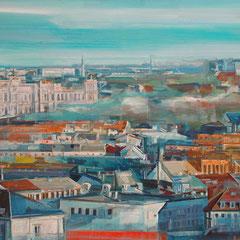 Blick Lehel, 0,92 x 1,50 m, Stefan Heide, ABC Westside Galerie