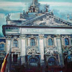 Justizpalast, 1,15 x 1,55 m, Stefan Heide, ABC Westside Galerie