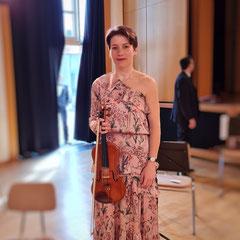 Geigenunterricht und Klavierunterricht in Nymphenburg, Obermenzing, Laim bei Vira Biliachat