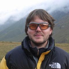 Ingo im Basislager,am 26.07.2008 nach dem Gipfelerfolg