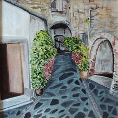 Castello di Rocca Imperiale_acrilico su tela_50x50_2014