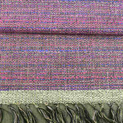 手織りシルク 92㎝幅 1着分3.8m ¥40400