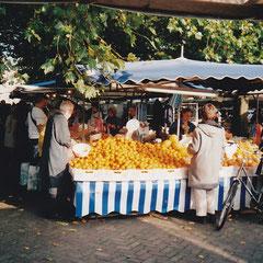 Foto: Oude foto de markt op de wedren in Nijmegen