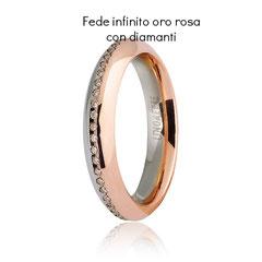 Fede Unoaerre Infinito Oro Rosa Collezione 9.0