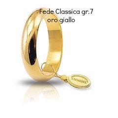 Fede Unoaerre Classica oro giallo grammi 7