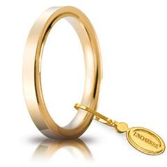 Fede Nuziale Unoaerre Cerchi di Luce 2.5 mm. - Gr. da 3,70 a 5,10 Referenza: 25 AFC 2