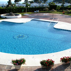 Ein erfrischender Quell der Freude: der große Pool