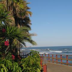 die erlebnisreiche Strandpromenade Senda litoral in Mijas-La Cala