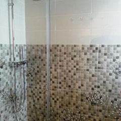 viel Platz für das Duschvergnügen