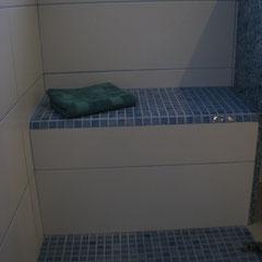 Duschbereich; Sitzbank oder Ablagefläche? entscheiden Sie selbst