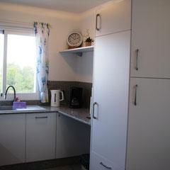 Küche: viel Platz zum Zubereiten und Schnippeln
