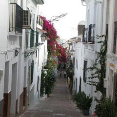 Marbella blumengeschmückte Gassen und romantische Plätze