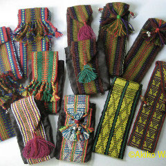 手織りの携帯電話ケース