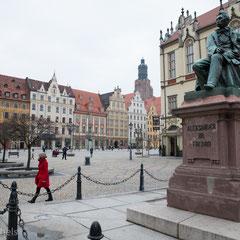 Breslau - Wroclaw, drittgrößte Stadt Polens
