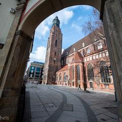 Die Elisabethkirche.