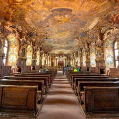 Es handelt sich um Polens größten und einen der größten Barocksäle Europas.