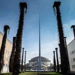 Die Jahrhunderthalle bildet das Zentrum des Breslauer Messegeländes, das zwischen 1911 und 1913 entstand.