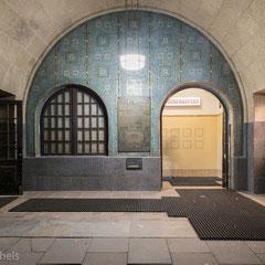 Hamburg - Eingang zum alten Elbtunnel