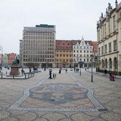 Breslau - Als Hauptstadt der historischen Region Schlesien ist die kreisfreie Großstadt an der Oder (Odra).