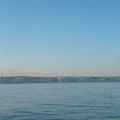 Bei schönstem Wetter und ruhiger See gehts ab nach Hause