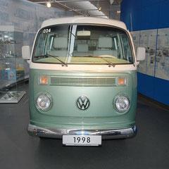 Bis ins Jahr 1998 gebaut bei Volkswagen do Brasil.