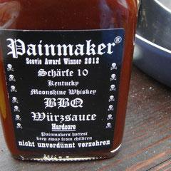 Mitbringsel aus Luxemburg: Die Painmaker-Sauce!