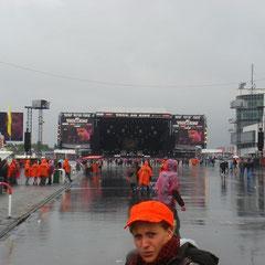 Sonntag früher Nachmittag: Das Wetter regnet sich noch mal aus