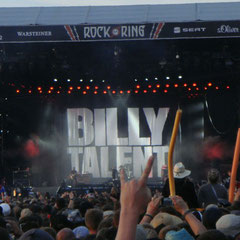 Billy Talent auf der Centerstage.