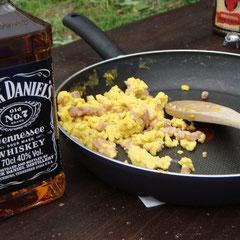 Deftiges Rock am ring-Frühstück...!