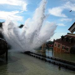 Tidal Wave soaked mal so richtig