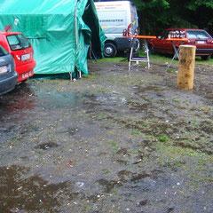 Tag 4: Samstag 6. Juni 2009: Regen!!!