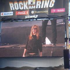 Guano Apes auf der Center Stage: Mein absoluts Ring 2009 Highlight... Natürlich wieder vorne in Zone A
