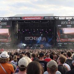 Sa. 5. Juni 2010: Stone Sour auf der Alterna-Stage