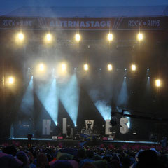 The Hives auf der Alterna-Stage