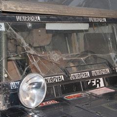 Hier zu sehen ist der Siegerwagen der Rallye Paris-Dakar (damals noch Rallye Oasis) des Jahres 1980.
