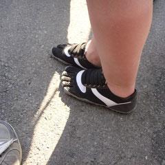 Gesehen an der Alterna-Stage: Geile Schuhe!!!