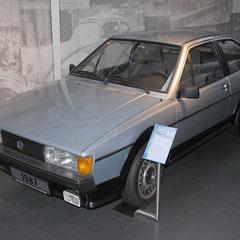 Scirocco GT von 1987. 4 Zylinder Reihenmotor mit 1,8l Hubraum und 95PS.
