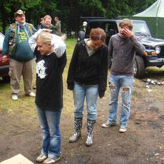 Tag 5: Sonntag 7. Juni 2009: Taufe von Insa & Mathis, den beiden Müllenbach-Newbies...