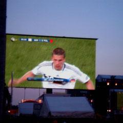 Erstes Tor im ersten Deutschland-Spiel gegen Polen