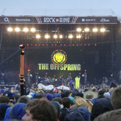 The Offspring auf der Centerstage.