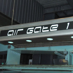 Air Gate 1: Unser Primärziel