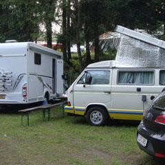 Mittwoch: Pierre hat den Camper geholt...