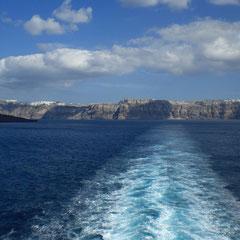 Tschau Santorini.