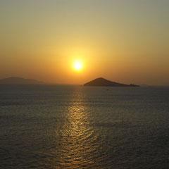 ... denn die Sonne geht auch endlich auf!
